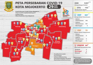 Peta Sebaran covid 19