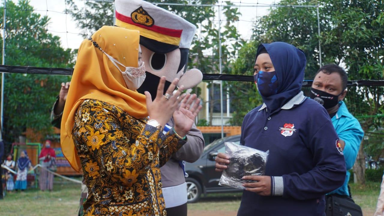 Walikota Mojokerto Launching gerakan Jatim Bermasker