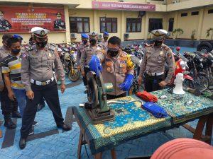 Tak Gunakan Helm Dominasi Pelanggaran Lalulintas Saat Operasi Patuh Semeru