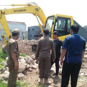 Nekat Tak Urus IMB, Aktifitas Pembangunan di Benteng Dihentikan Paksa