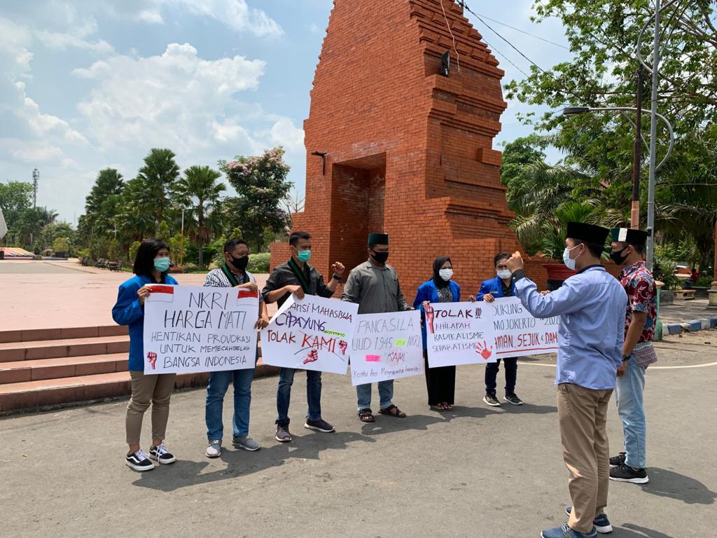 Cipayung Mojokerto Tolak Keberadaan KAMI dan ajak PILkADA Damai