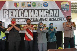Kampung Tangguh Semeru Anti Narkoba, dideklarasikan