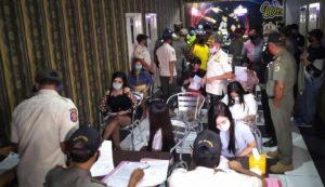 Langgar Protokol Kesehatan Sejumlah LC Karaoke Terjaring Operasi