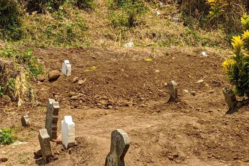 Makam Pasien Covid 19 di Mojokerto Ini Sebabnya