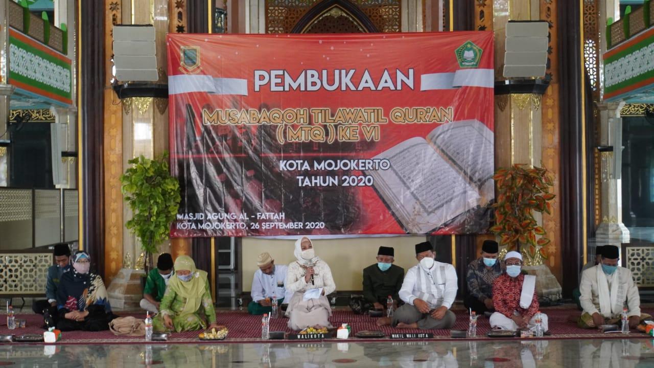 Ning Ita Wadahi Lomba MTQ Sebagai Pengembangan Kompetensi Dasar Agama
