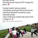 Video Viral, Geng Cabe Cabean di Mojokerto Terlibat Tawuran