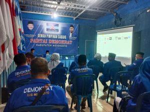 DPC Partai Demokrat Kabupaten Mojokerto PastIkan Bisa Bekerja Tim Untuk Menangkan IKBAR