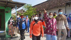 Hujan Deras Disertai Angin Kencang Walikota Mojokerto Turung Tangan