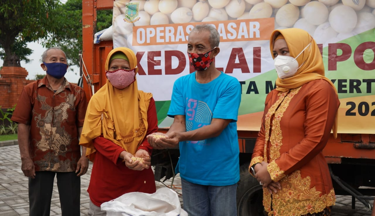 Operasi Sisir Kedelai Impor Cara Pemkot Mojokerto Atasi Kedelai Mahal