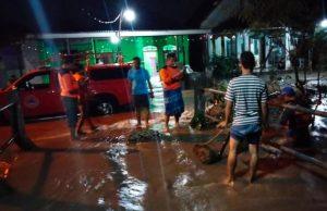 Hujan Tak Kunjung Berhenti Sejumlah Desa di Mojoanyar Terendam Banjir