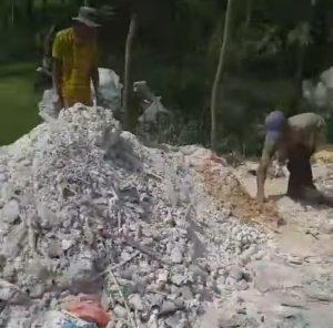 Video pembuangan limbah