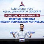 DPC Demokrat Kota Mojokerto Dukung statemen AHY