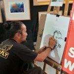 Bursa dan Pameran Lukisan Swarna Warni Digelar di Sunrise Mall