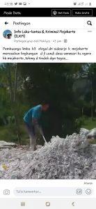 Postingan Pembuangan Limbah Ilegal