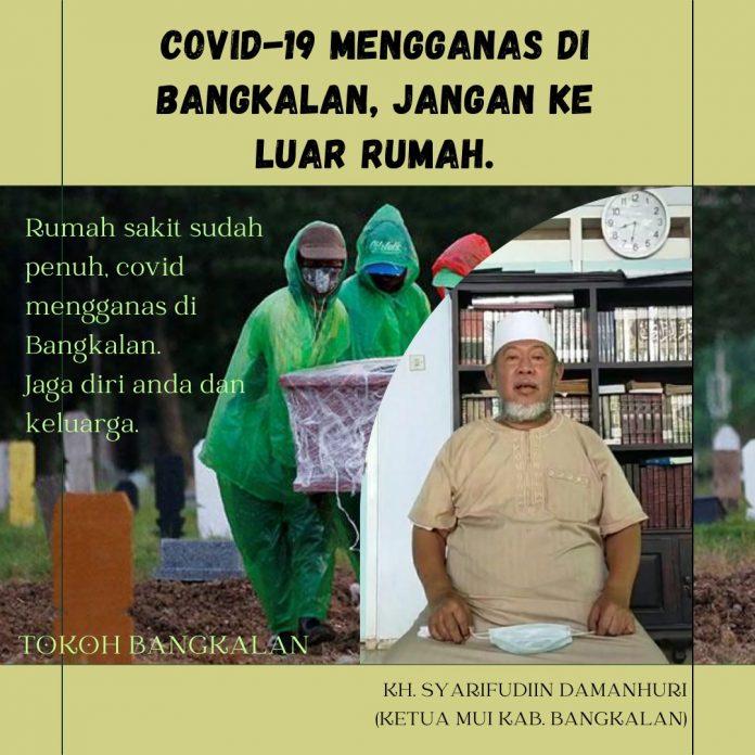 Covid 19, kiai bangkalan