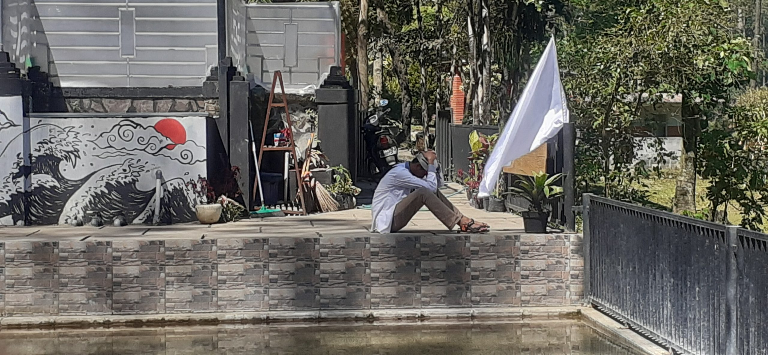 Pelaku usaha wisata, Air Panas, bendera putih, pelaku usaha
