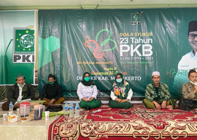 aini zuhro, pkb, dpc pkb mojoketo, harlah pkb, harlah pkb ke-23