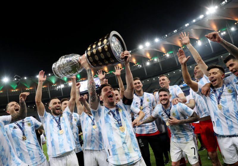 Final, Copa America, Argentina, Brazil