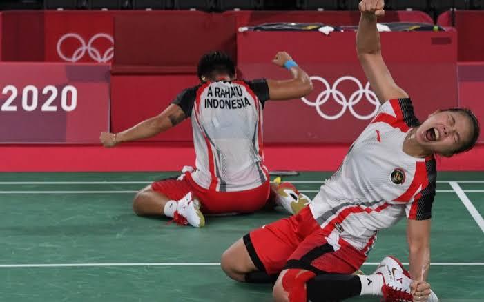 Medali Emas, Olimpiade Tokyo, Greysia Polii/Apriyani Rahayu, Greysia/Apriyani, Greysia Polii, Apriyani Rahayu