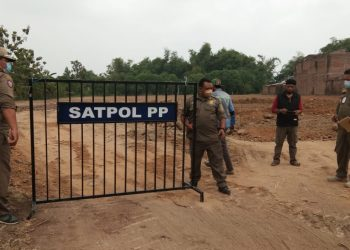 Satpol pp, kota mojokerto, pembangunan perumahan elit